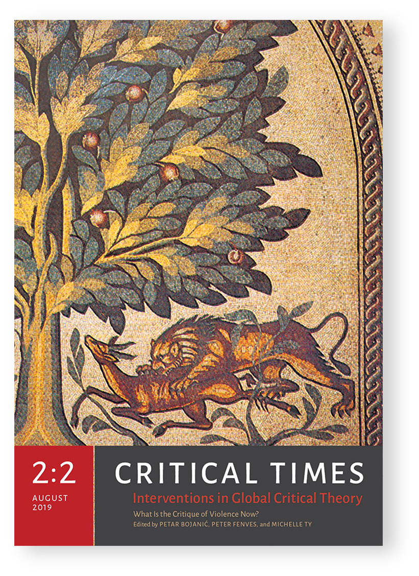 Critical Times 2:2 cover