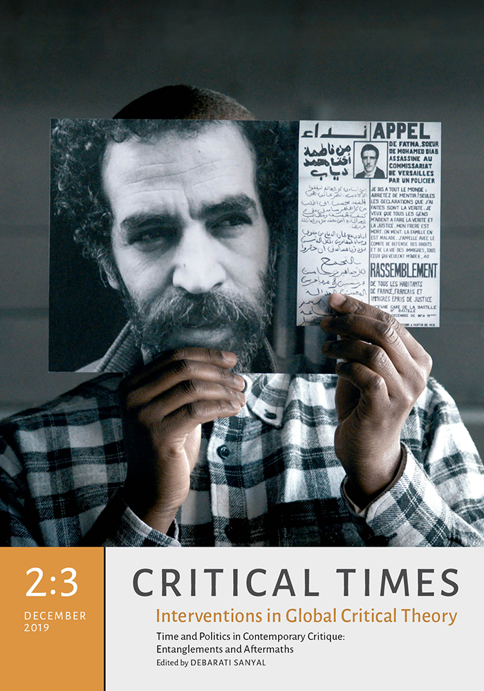 Critical Times 2:3 cover